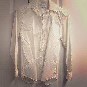 [NWT] Lacoste White Long Sleeve Dress Shirt Sz.36